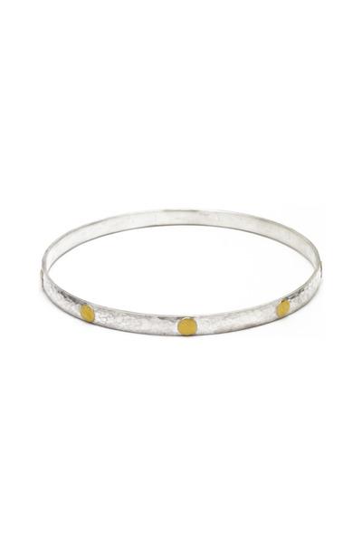 Gurhan - Silver Gold Bracelet