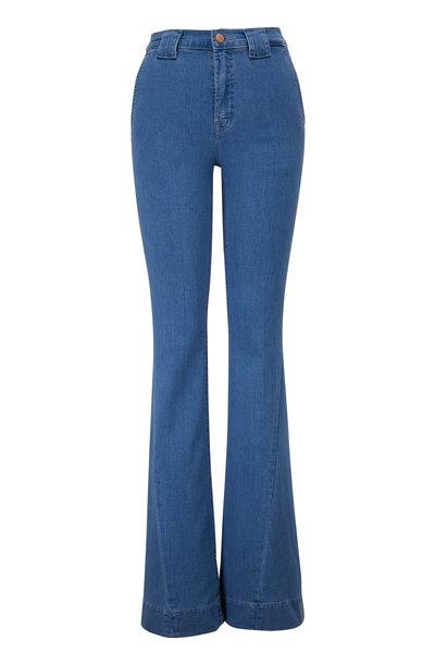 J Brand - Hope Twisted Seam Detail Flare Jean