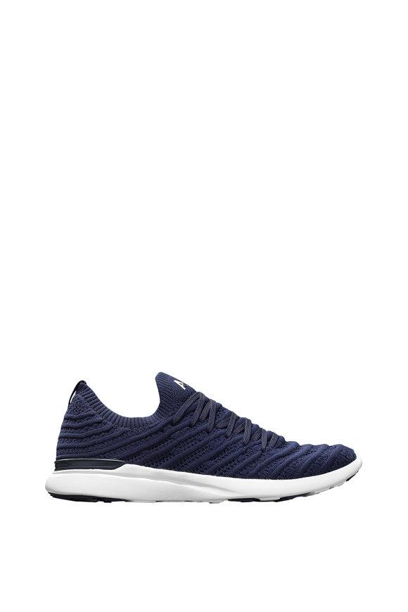 APL Athletic Propulsion Labs Wave Navy TechLoom Sneaker
