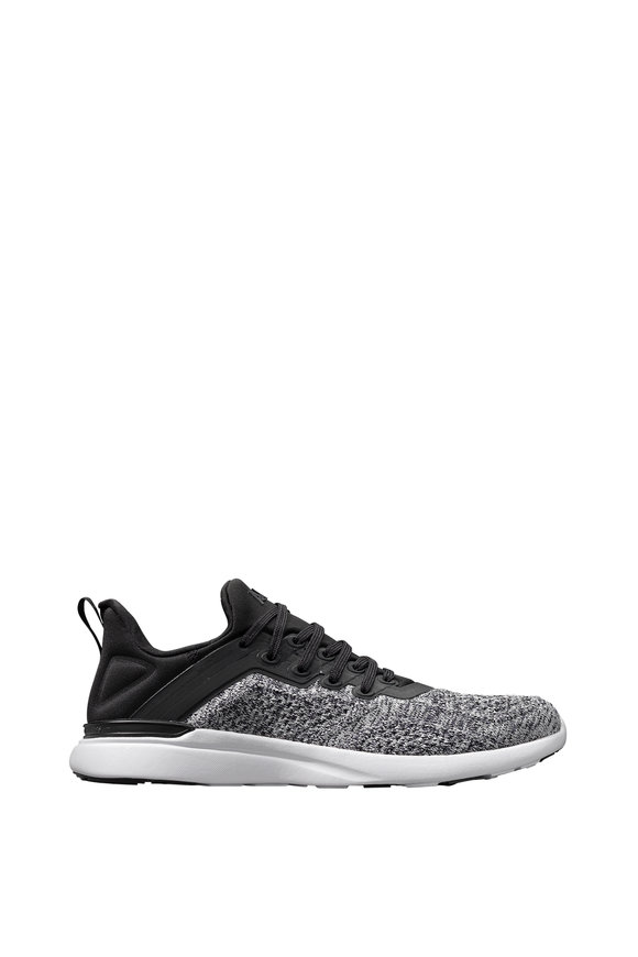 APL Athletic Propulsion Labs Tracer Black & Heather Gray TechLoom Sneaker