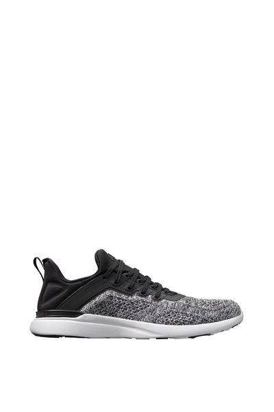 APL Athletic Propulsion Labs - Tracer Black & Heather Gray TechLoom Sneaker