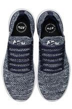 APL Athletic Propulsion Labs - Breeze Navy Melange TechLoom Running Sneaker