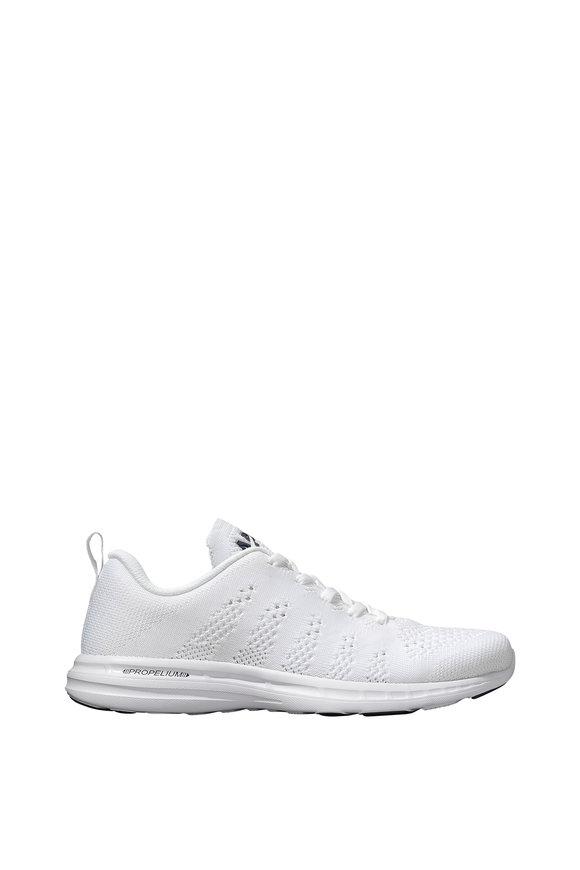APL Athletic Propulsion Labs Pro White TechLoom Sneaker