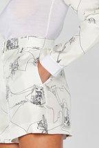 Pucci - Scorci Fiorentini Print Black & White Wool Sweater