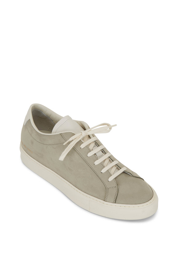 Common Projects Achilles Sage Suede Low Top Sneaker