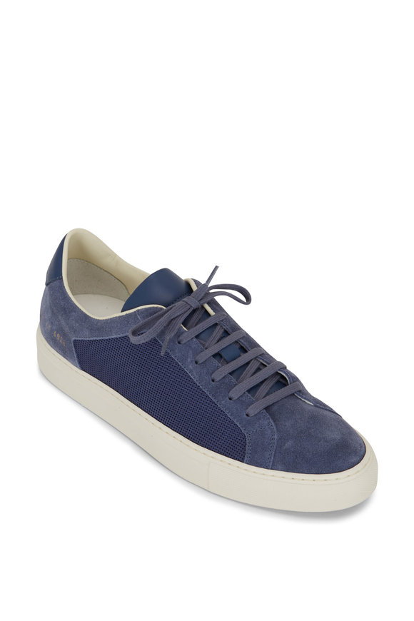 Common Projects Retro Summer Navy Sneaker