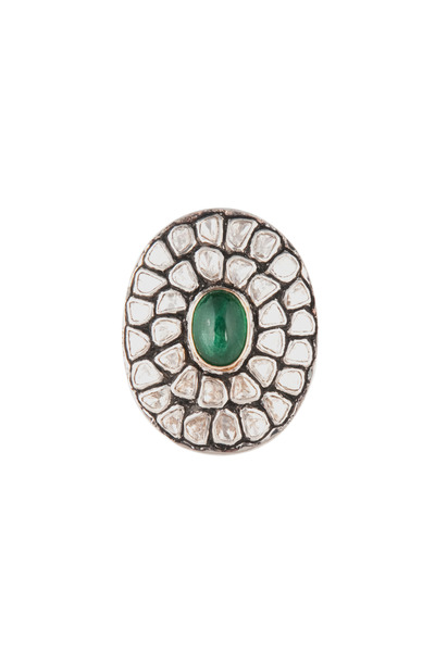 Loren Jewels - Emerald Diamond Ring