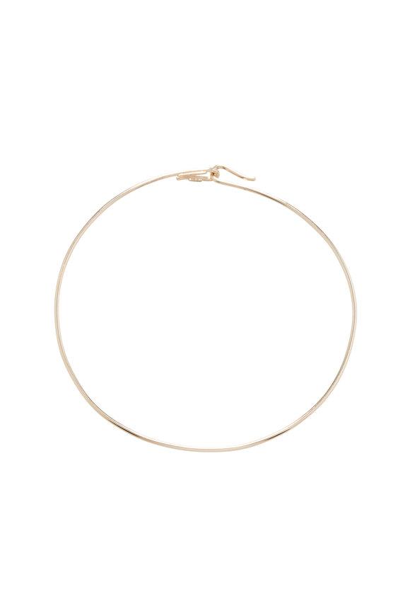 David Webb 18K Polished Yellow Gold Wire Collar