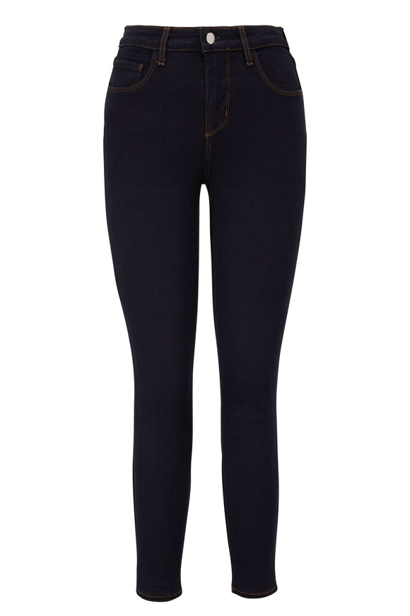 L'Agence Margot Ink High-Rise Skinny Ankle Jean