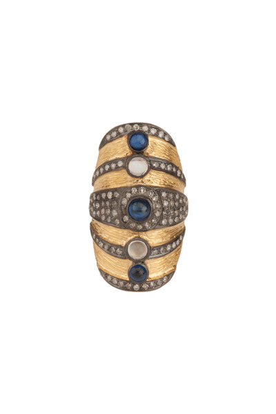 Loren Jewels - Vertical Cocktail Ring