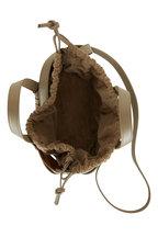 Bottega Veneta - The Shell Taupe Leather Mini Basket Bag