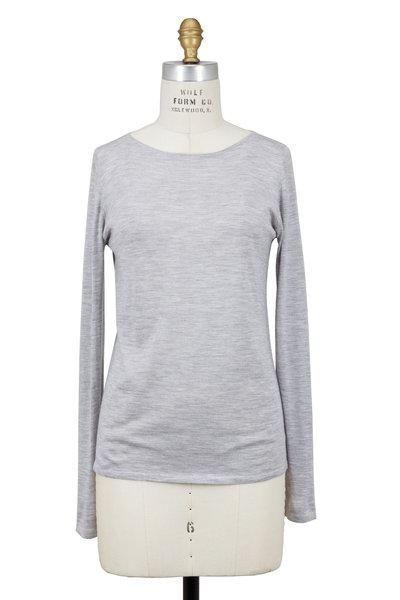 Brunello Cucinelli - Pearl Cashmere & Silk Pullover