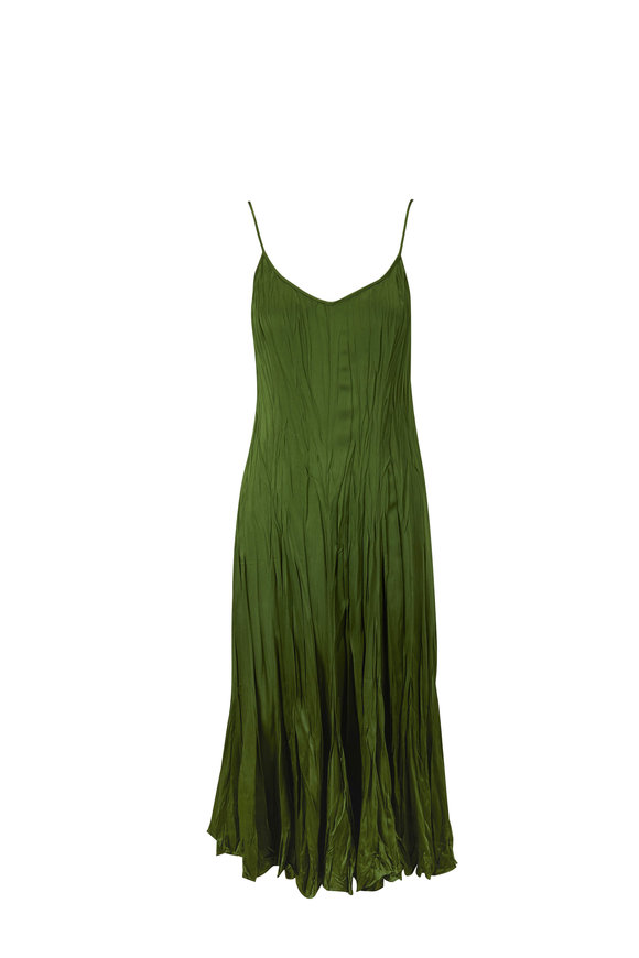 Michael Kors Collection Jamison Crush Lawn Maxi Slip Dress