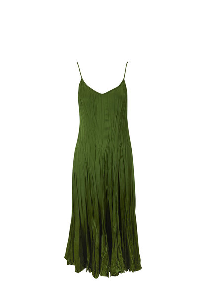 Michael Kors Collection - Jamison Crush Lawn Maxi Slip Dress