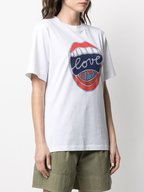 Chloé - White Love Chloe Graphic T-Shirt