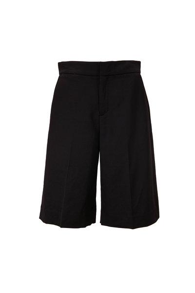 Vince - Black Wide Leg Shorts