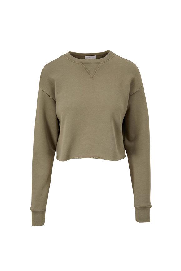 John Elliott Snyder Brush Crop Crewneck Sweatshirt
