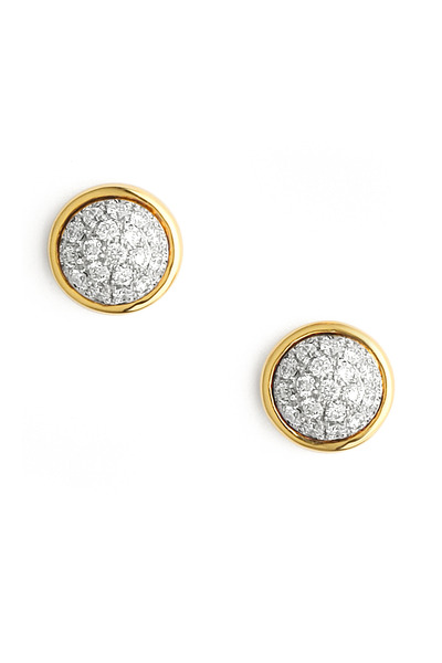 Syna - Small Diamond Stud Earrings