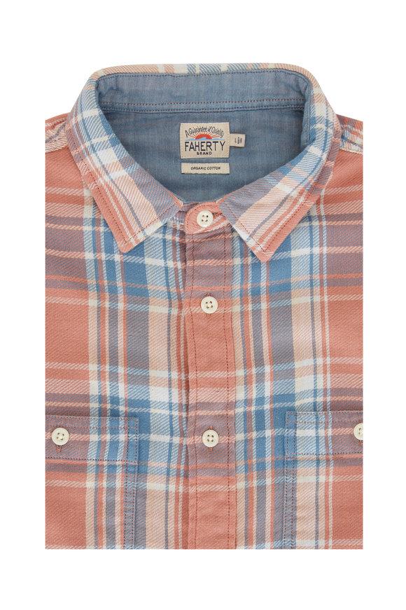 Faherty Brand The Roadtrip Sunset Plaid Shirt