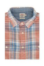 Faherty Brand - The Roadtrip Sunset Plaid Shirt
