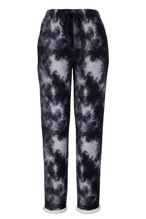 Majestic Marine Tie Dye French Touch Drawstring Pant