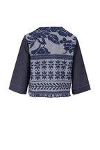 D.Exterior - Denim Blue Crop Jacket