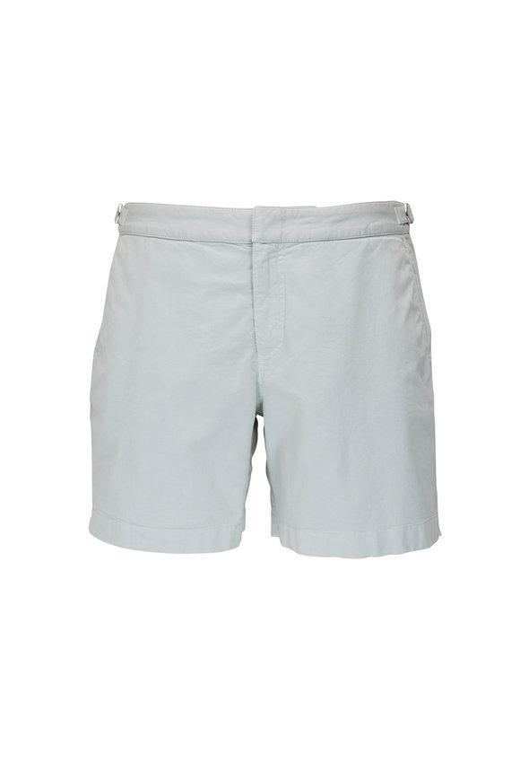 Orlebar Brown Bulldog Rock Salt Twill Shorts