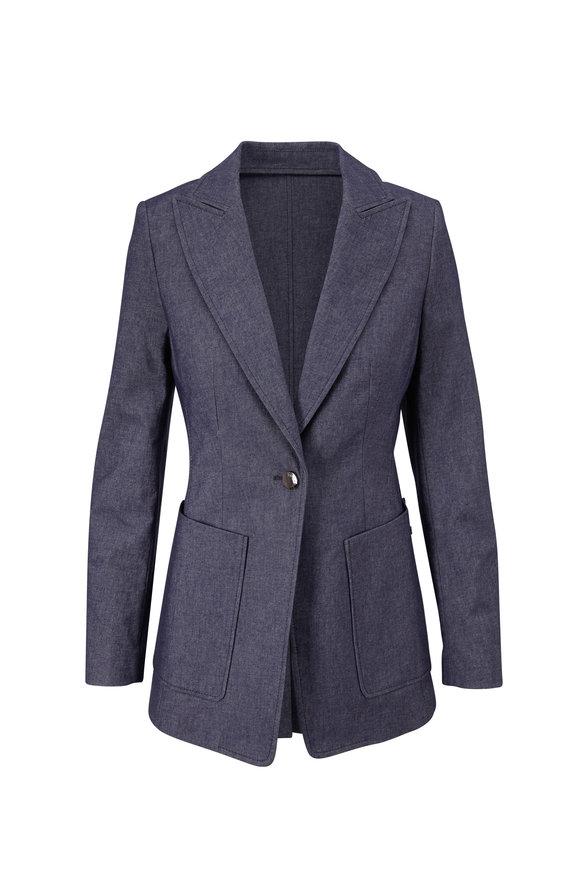 Bogner Alea Navy Blue Single Button Jacket