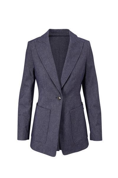 Bogner - Alea Navy Blue Single Button Jacket