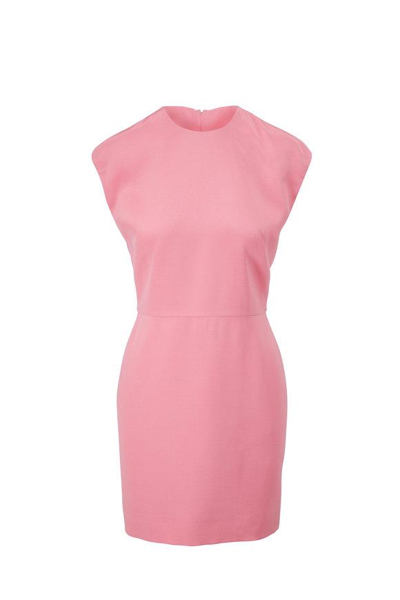 Valentino Pink Cap Sleeve Dress