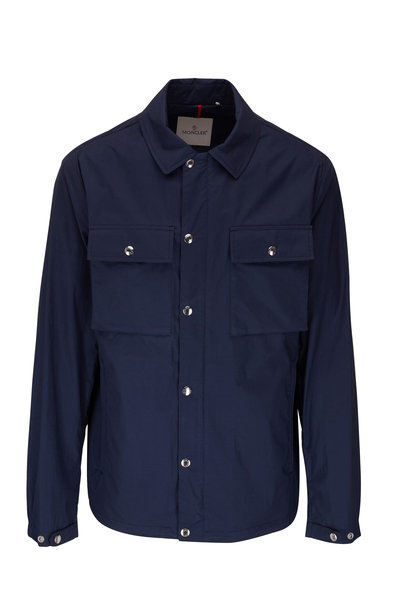 Moncler - Navy Cotton Shirt Jacket