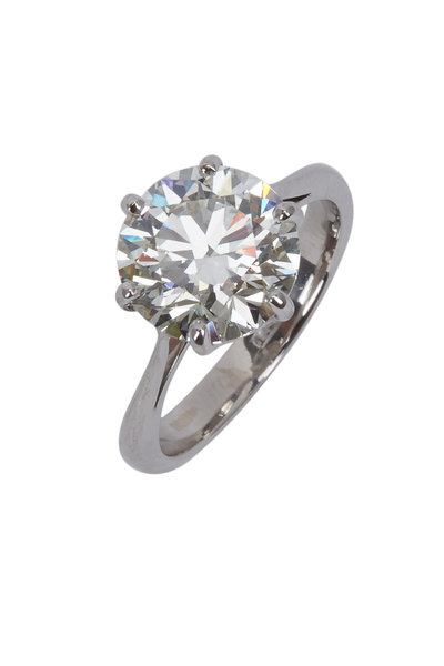 Louis Newman - Platinum Diamond Bridal Ring