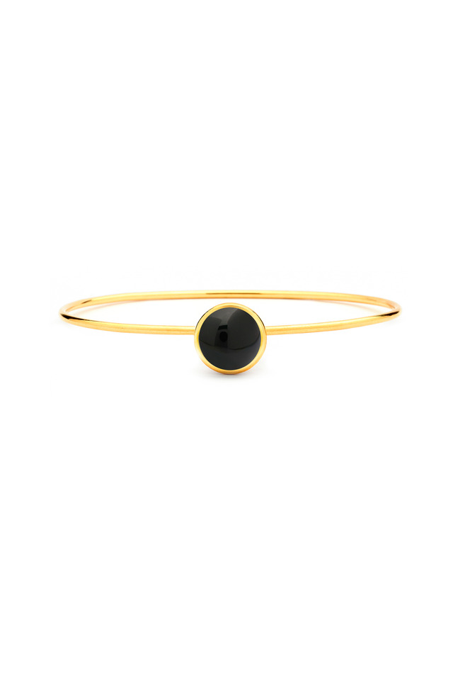 Black Onyx Baubles Stacking Bracelet