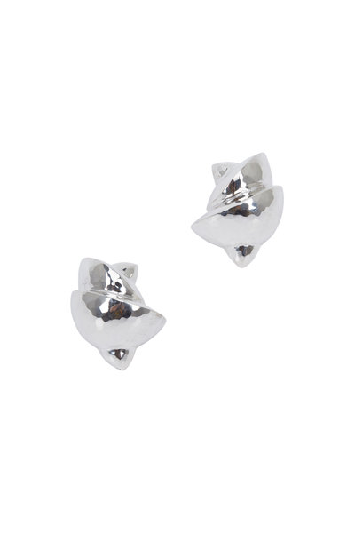 Patricia von Musulin - Silver Small Noodle Earrings