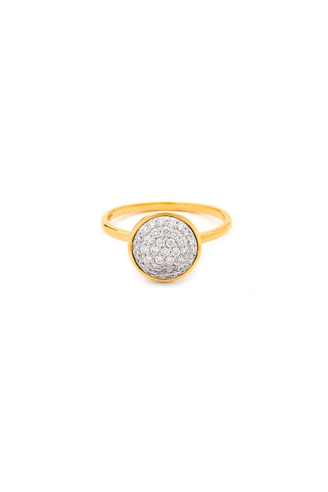 Chakra Yellow Gold Diamond Ring