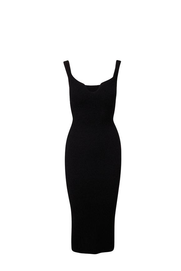 Khaite Nina Black Tank Dress