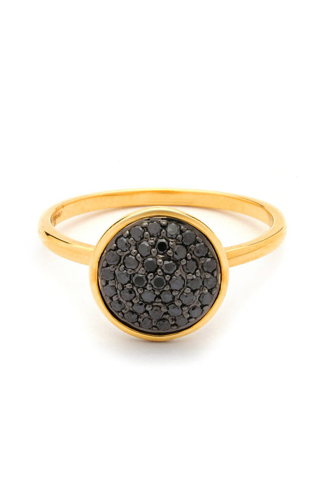 Black Diamond Chakra Ring