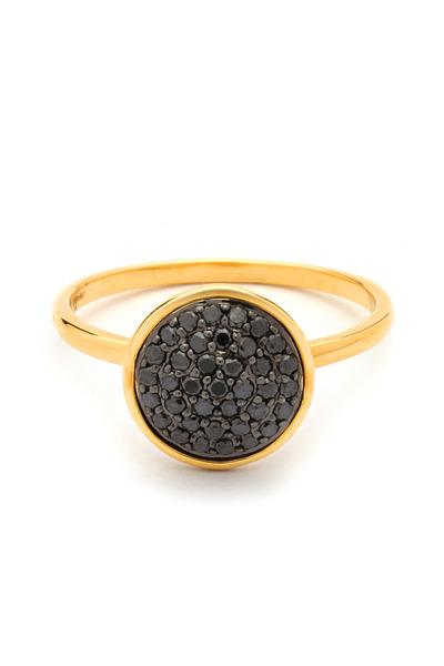 Syna - Black Diamond Chakra Ring