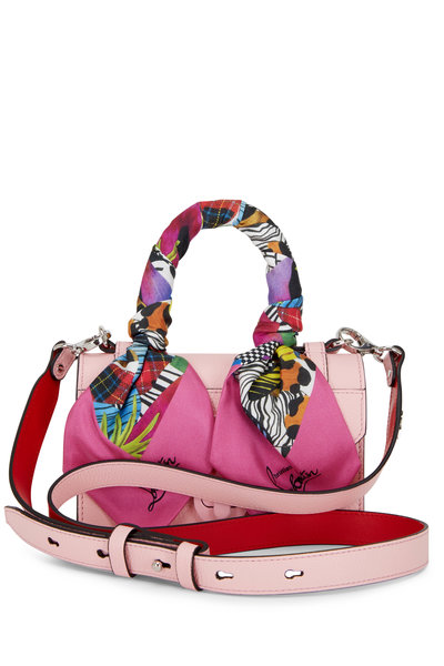 Christian Louboutin - Elisa Pink Leather Mini Top Handle Bag