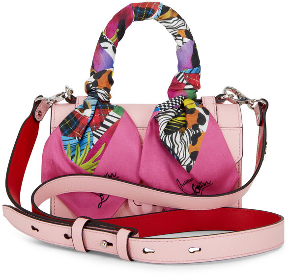Christian Louboutin Elisa Pink Leather Mini Top Handle Bag