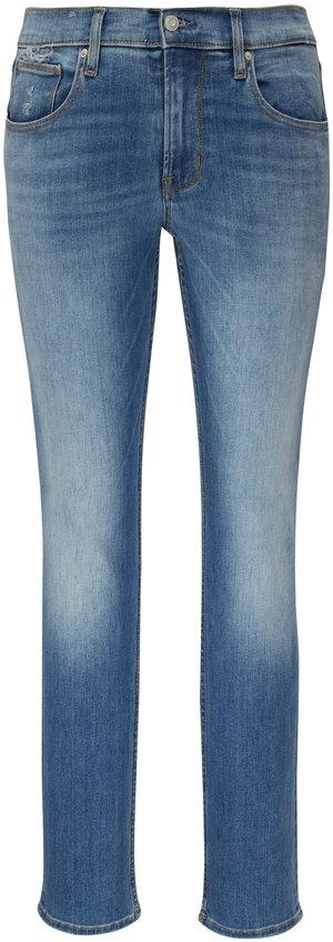Hudson Clothing Blake Euclid Mid-Rise Slim Straight Jean