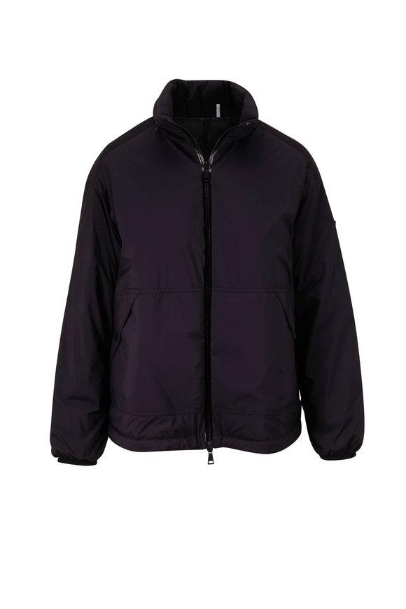 Moncler Black Hooded Down Jacket