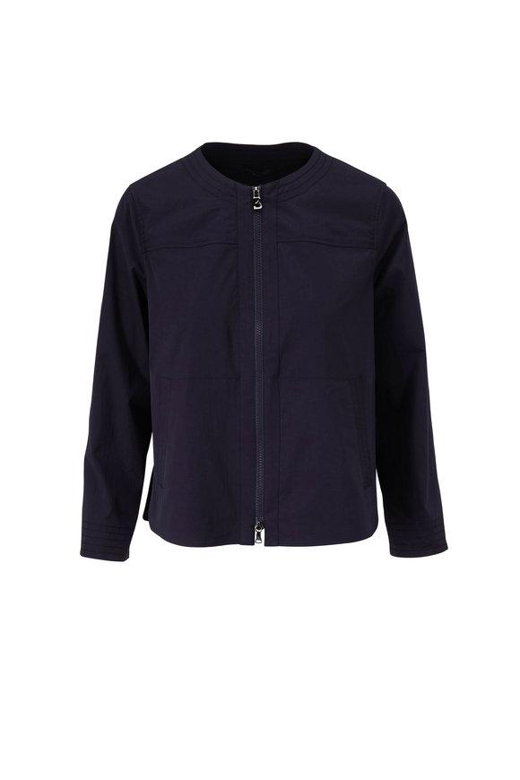 Bogner Abigail Fashion Navy Superfine Cotton Jacket