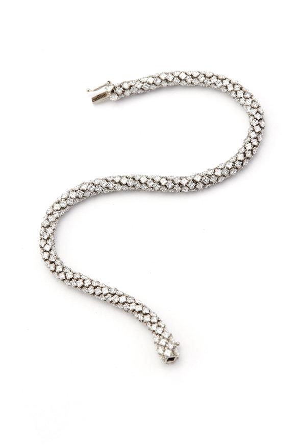 Sylva & Cie Platinum Diamond Bracelet