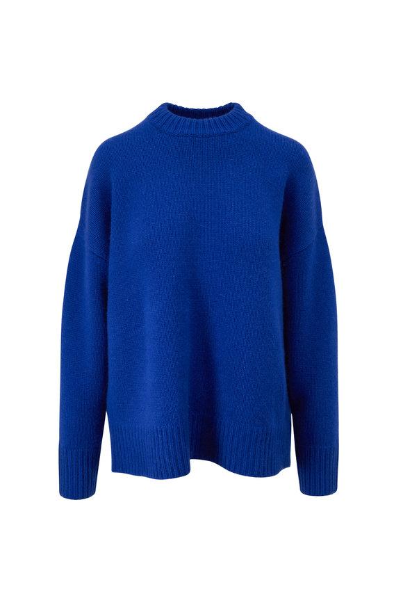 CO Collection Cobalt Oversize Crewneck Sweater