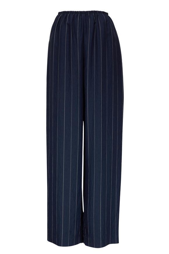 Vince Coastal & Chiffon Stripe Pull-On Pant
