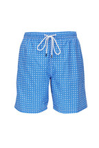 Fedeli - Blue Print Swim Trunks
