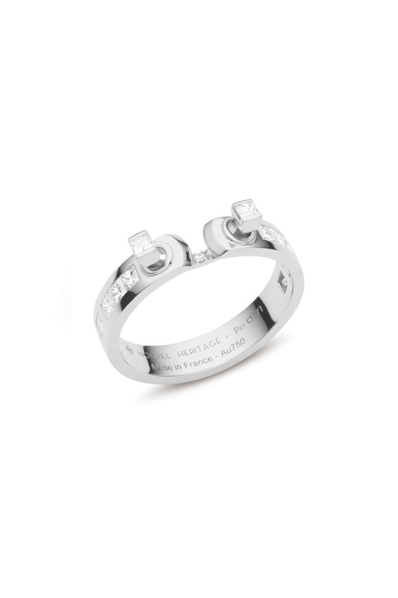 Nouvel Heritage White Gold My Best Friend's Wedding Mood Ring