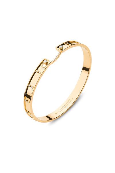 Nouvel Heritage - Rose Gold Picnic In Paris Diamond Mood Bangle