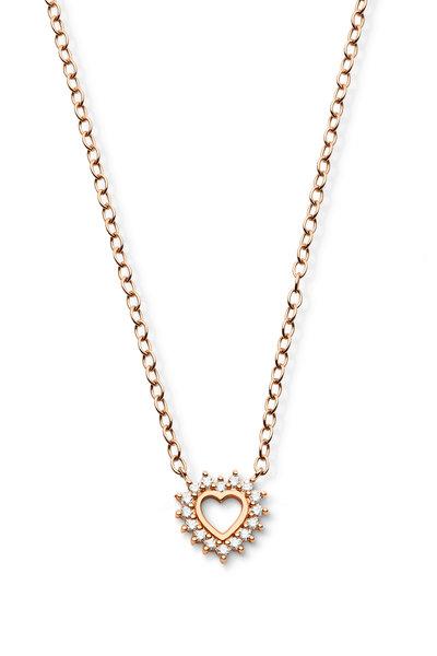 Nouvel Heritage - Rose Gold Mystic Love Necklace